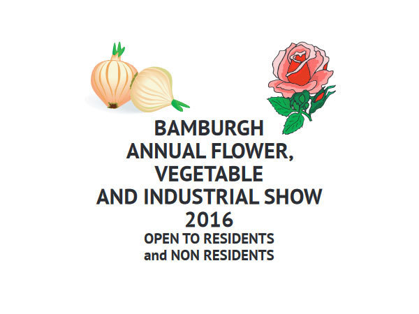 Bamburgh Horticultural and Industrial Village 2016 Show