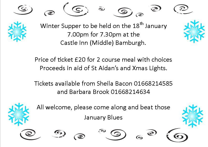 Winter Supper
