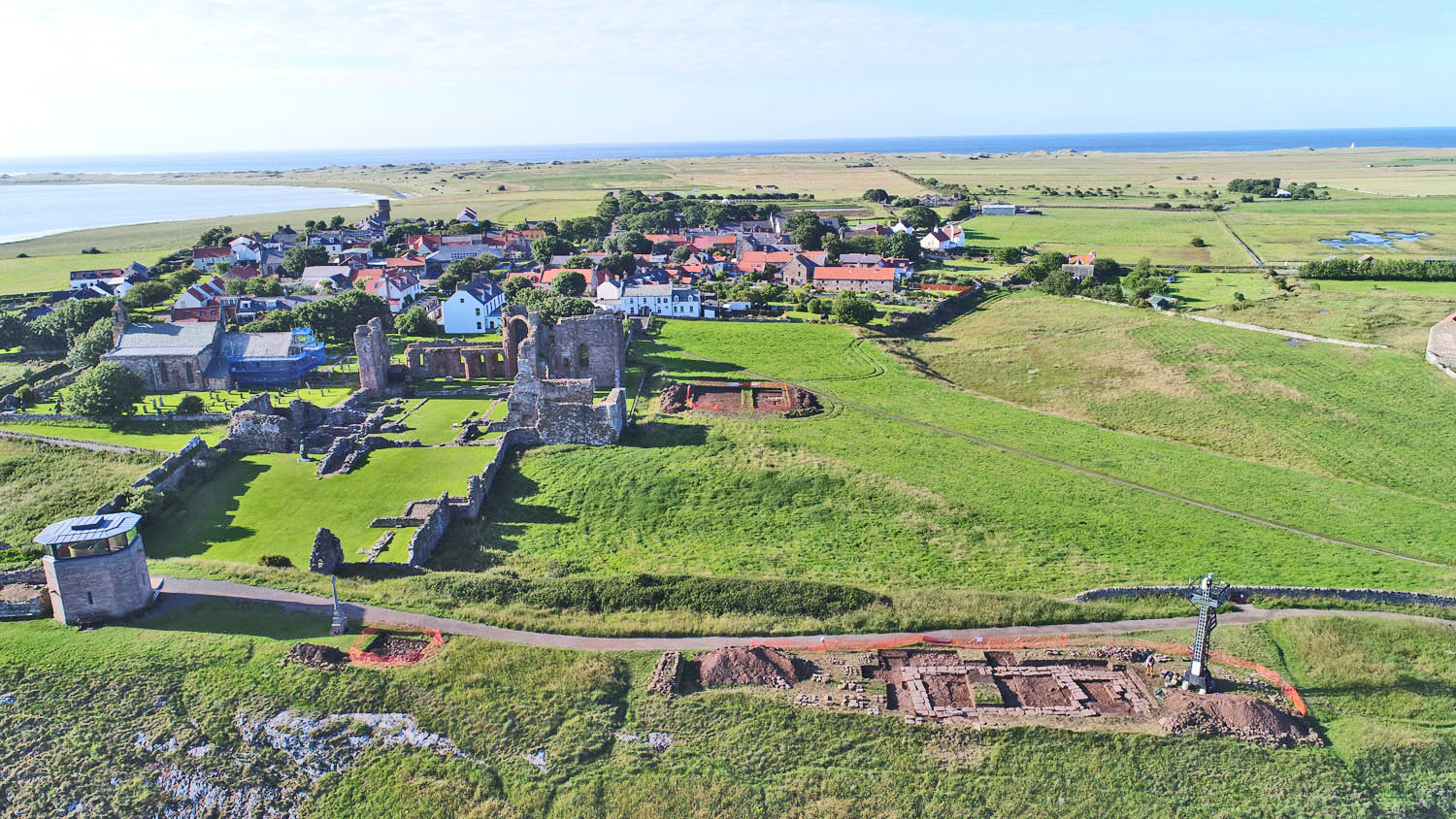 Summer season of community archaeology has revealed more tantalising insights into Holy Island's past.
