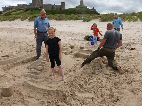 sandcastle / sculpture competition